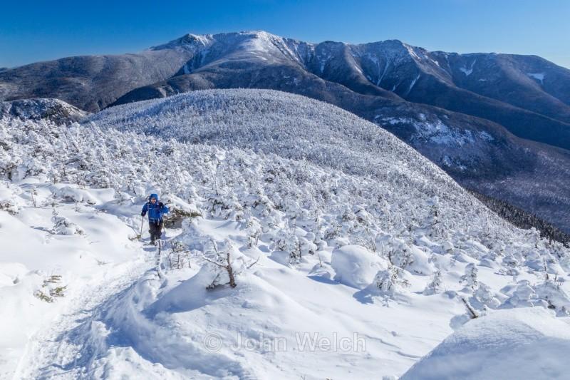 Snowshoer's View of Franconia Ridge I - Winter