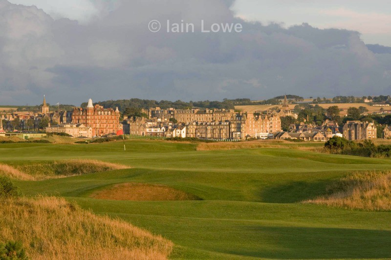 Old Course 13th approach - St Andrews Old Course Hole-by-Hole