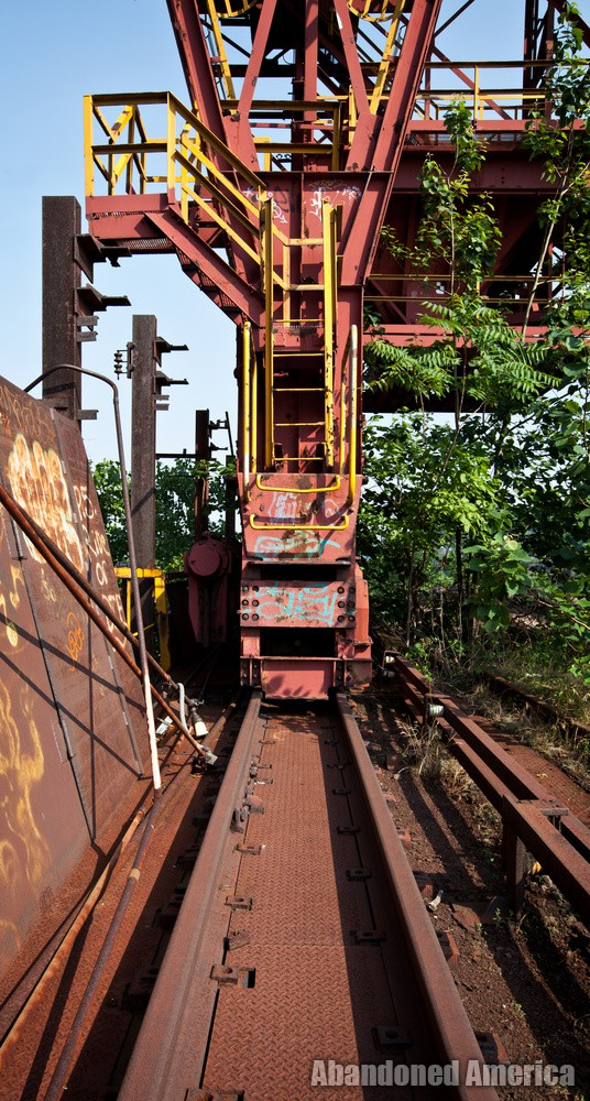 Carrie Furnaces (Rankin, PA) | Trestle Ladder - Carrie Furnaces