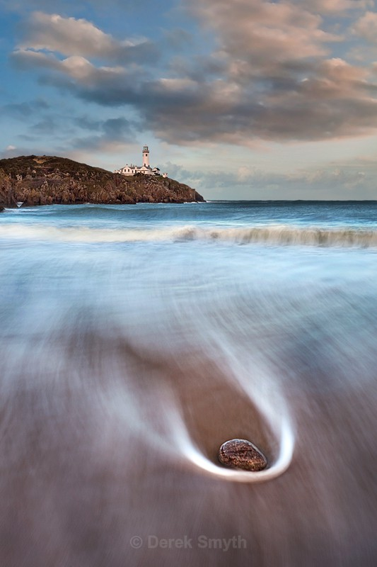 The Beach At Fanad - Fanad Lighthouse