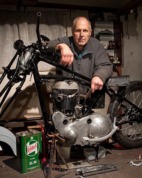 5 - Rudge Motorcycle Restoration