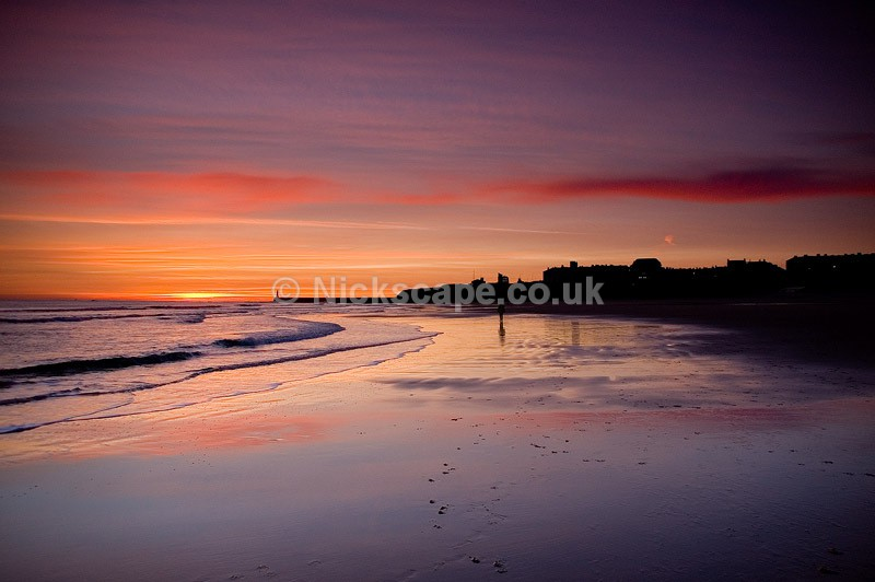 Sunrise at Longsands Beach at Tynemouth | North Tyneside Coastal Photography Gallery