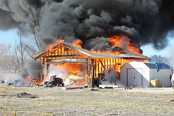 Garage Fire - Fallon/Churchill Fire Department