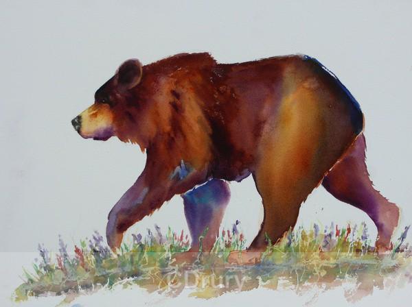 Merry Bear - AVAILABLE PRINTS