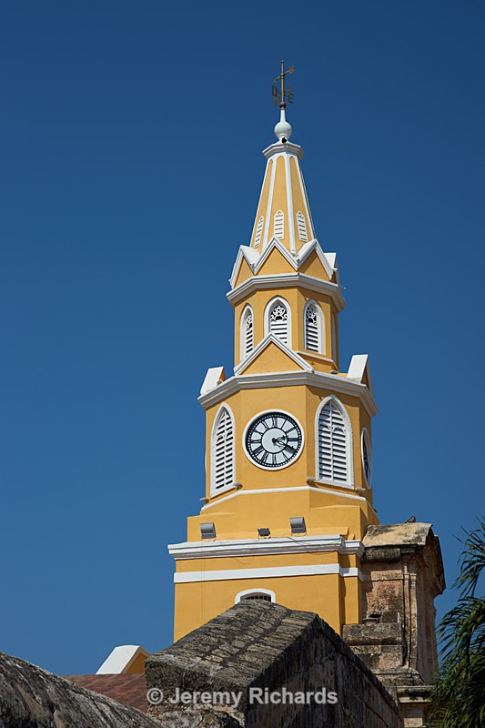 Historic Clock Tower - Colombia
