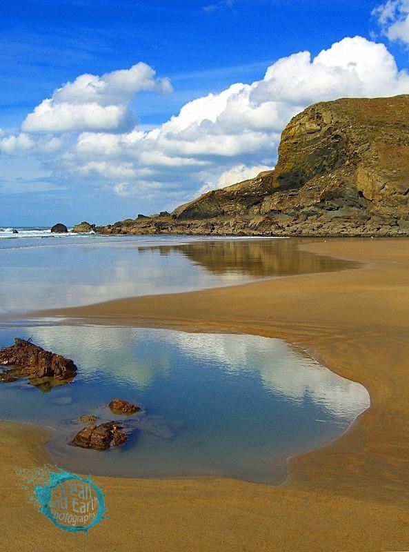 Coastal Reflection - Seascapes