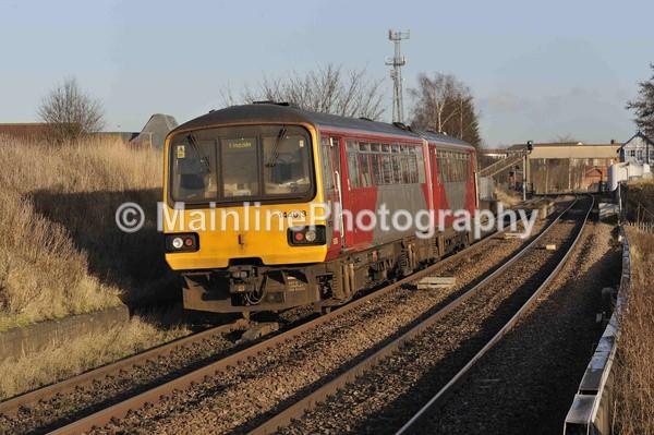 Winter Sun - Northern Rail
