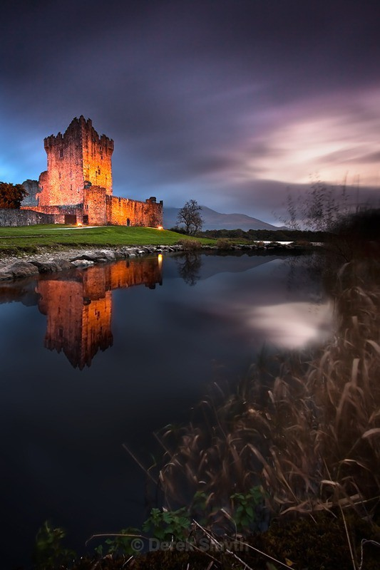 Ross Castle In Evening Light - Killarney National Park