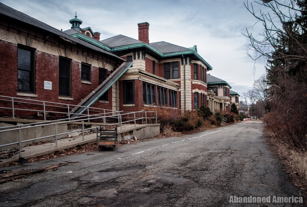 Overbrook Asylum (Cedar Grove, NJ) | Long Alley by Clothing Boutique - The Essex County Hospital Center
