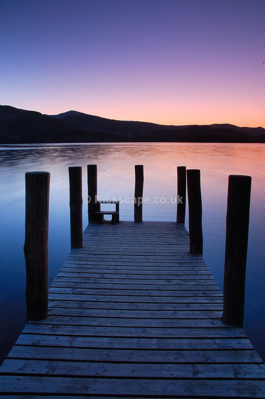 Derwent Piers - Lake District National Park