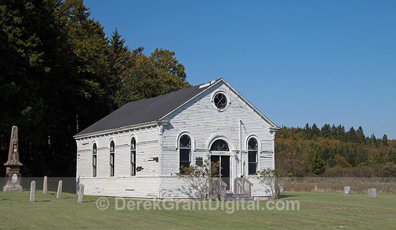 St. Patrick's Catholic Church Black River Saint John County NB - Churches of New Brunswick