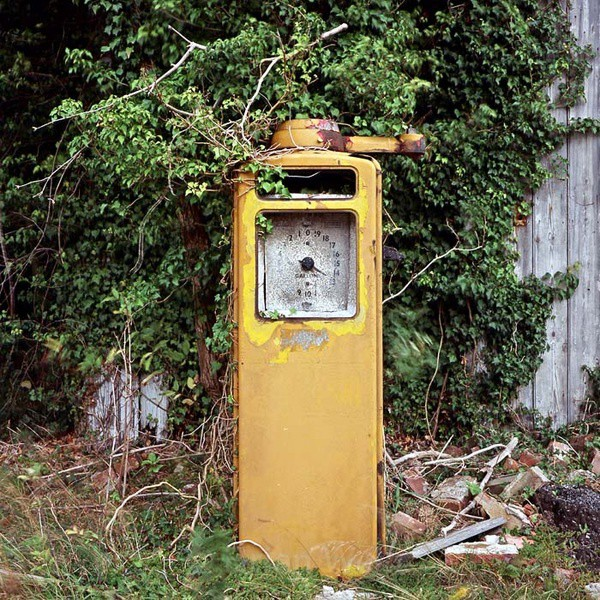 Petrol Pump, Setchey - Transport and Machinery
