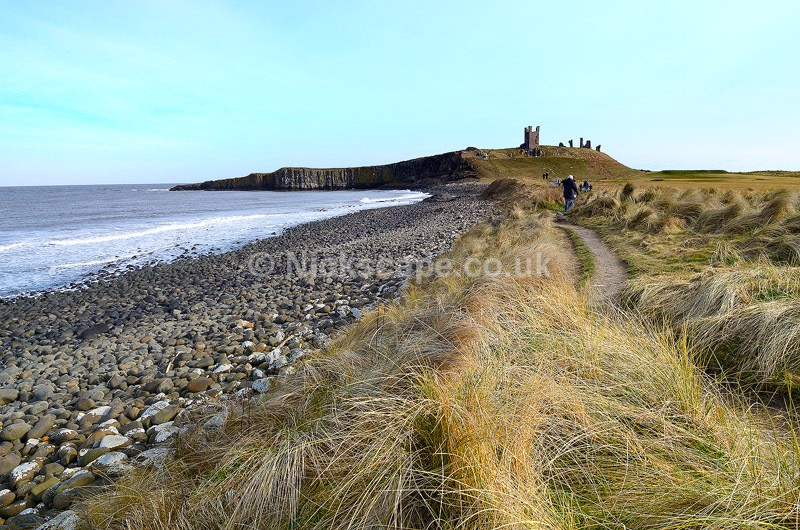 Dunstanburgh Castle - Northumberland Coast, UK - Northumberland