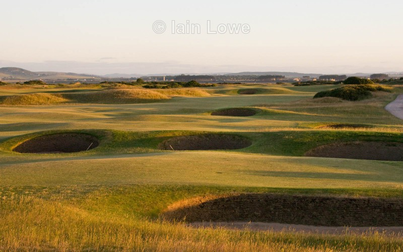 Old Course 5th and The Seven Sisters - St Andrews Old Course Hole-by-Hole