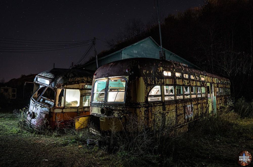 Trolley Graveyard | Old Friends - The Trolley Graveyard