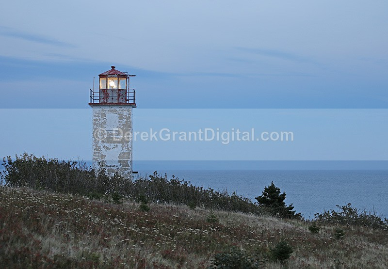 Quaco Head Lighthouse New Brunswick Canada - Lighthouses of New Brunswick