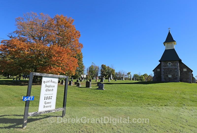 St. James Anglican Church, Lower Jemseg, New Brunswick Canada - 2 - Churches of New Brunswick