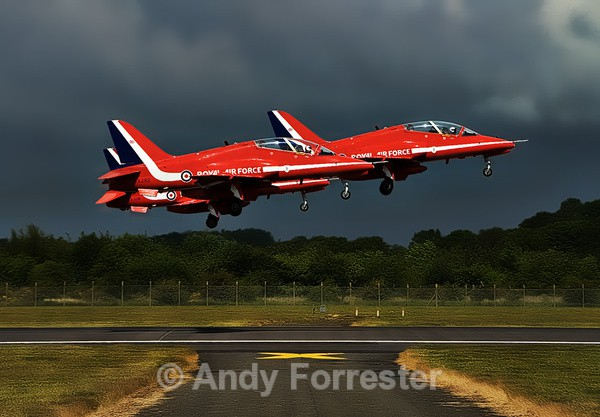 Uplifting - Red Arrows