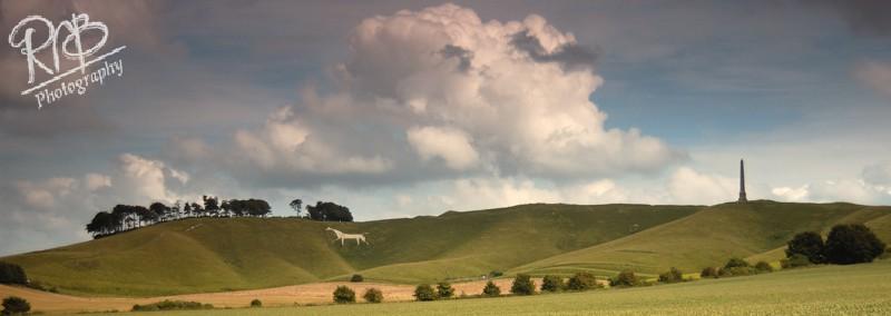 Cherhill White Horse - Panoramic Images