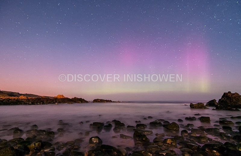 Tremone Bay - Aurora Borealis (Northern Lights)