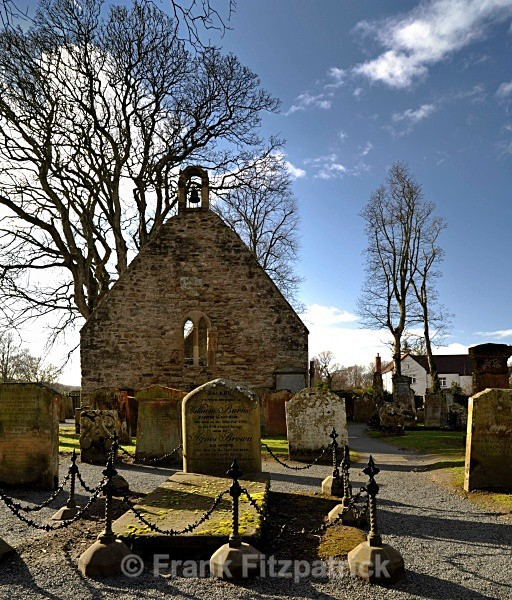 The Auld Kirk, Alloway, Ayrshire. - Robert Burns
