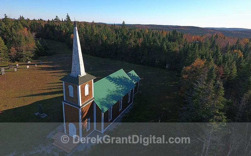 St. Paul's Anglican Church Londonderry Hammond Parrish NB Canada - Churches of New Brunswick