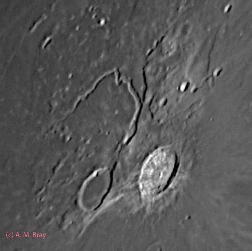 Aristarchus crater, Herodotus crater, Vallis Schroteri