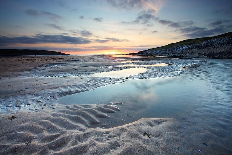 Crantock Ripples - Cornwall - North Coast 2