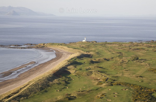 Turnberry Aerial 5th  6th - Turnberry Ailsa Championship Course
