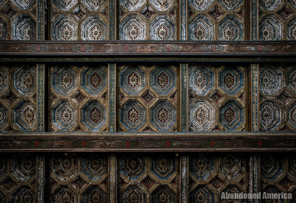 Ceiling Detail at The Westlake Theatre, Los Angeles, CA | Abandoned America