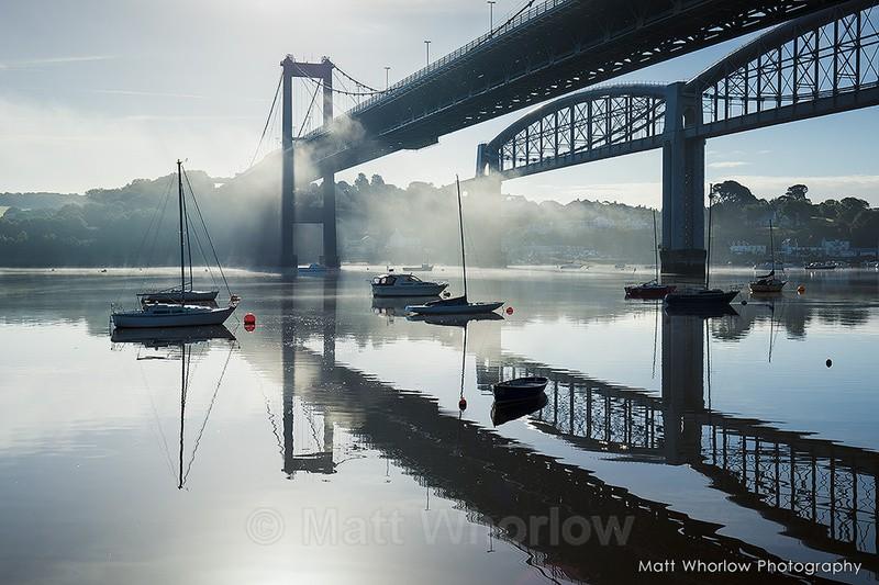 Tamar Bridge - Cornwall - Towns and Countryside
