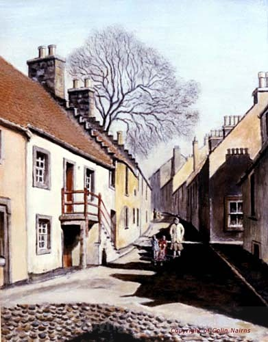 'Culross, Fife' - Landscapes