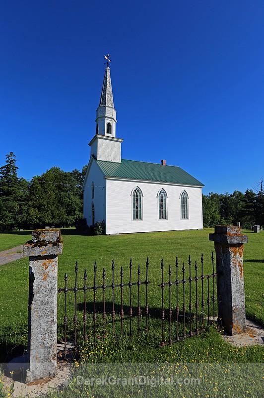 St. James Anglican Church Long Reach New Brunswick Canada - Churches of New Brunswick