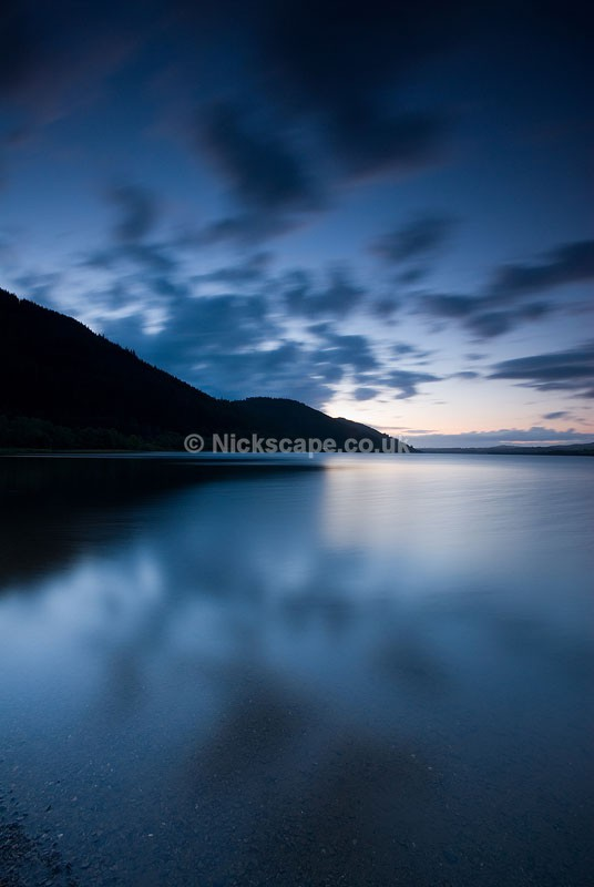 Photo of Bassenthwaite Lake at Sunset in Lakeland - Lake District Photography by Nick Cockman