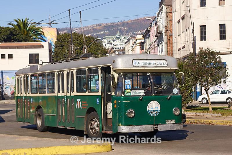 Trolley Bus - Coastal Chile