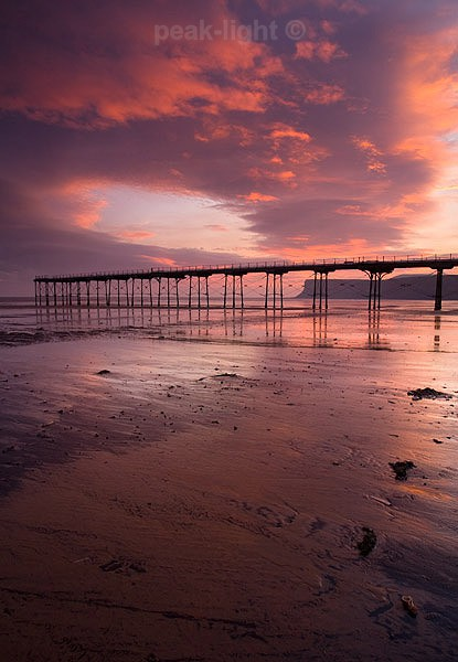 Saltburn Sunrise - Coast