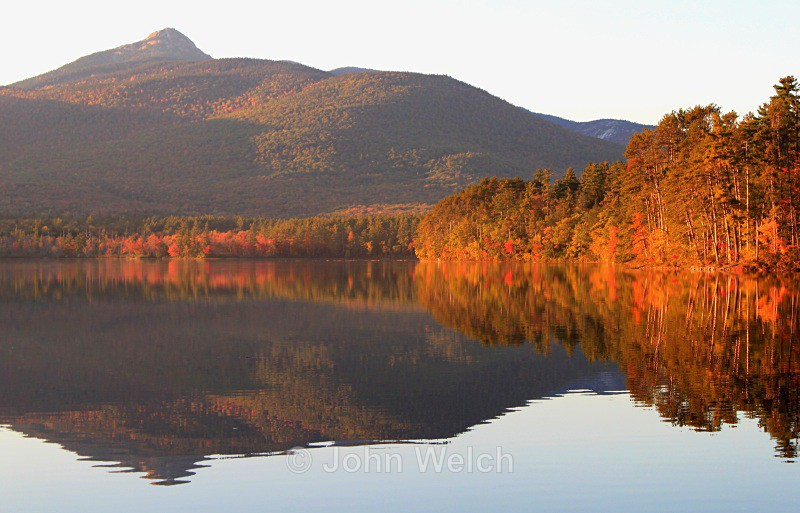 Chocorua Lake Foliage - White Mountain National Forest and Northern New Hampshire