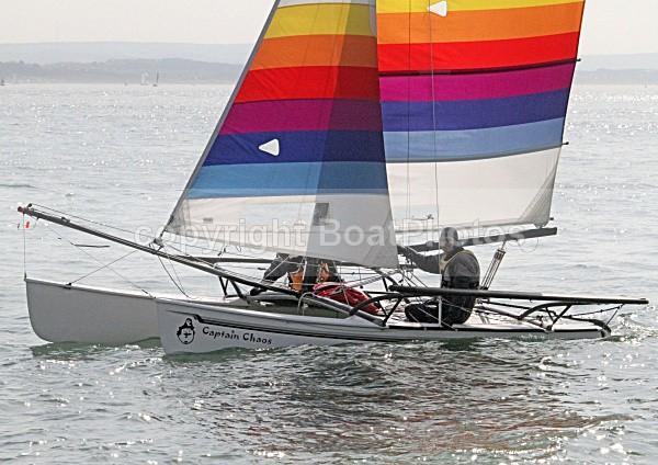 100410 CAPTAIN CHAOS IMG_0209 - Sailboats - multihull