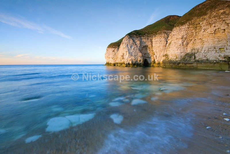 Landscape Photo of Thornwick Bay near Flamborough Head East Yorkshire