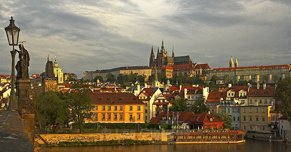 Castle at Dawn - Prague