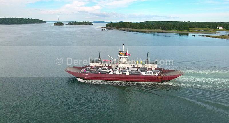John E. Rigby Car Ferry Deer Island Letete NB Canada - Boats