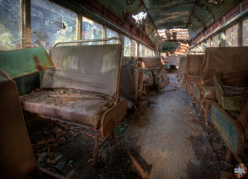 Trolley Graveyard | Next Stop, Tetanus - The Trolley Graveyard