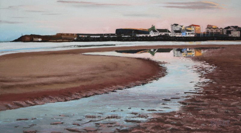 Early Morning West Strand - Paintings