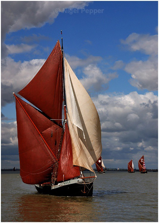 SB Thistle (3) - The Thames Barge Match
