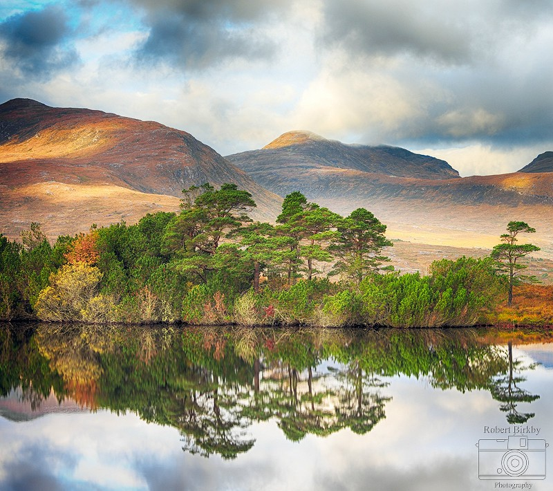 Coigach Reflections II - Scotland Landscapes (also see Seascapes portfolio)