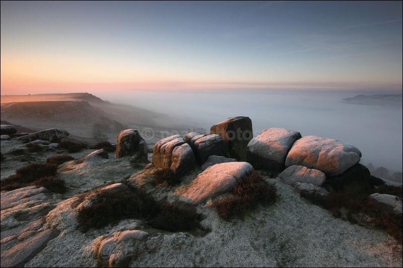 Curbar Frost - Peak District Winter