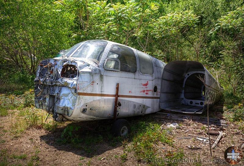Abandoned airplane graveyard - Matthew Christopher's Abandoned America