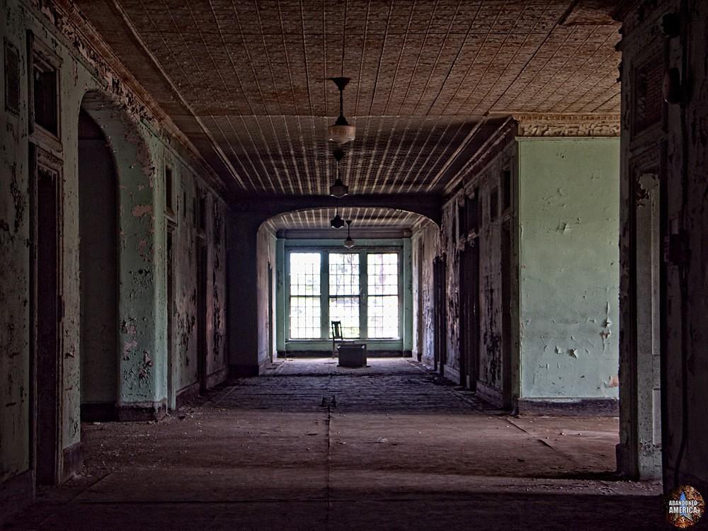 Ward hallway, Taunton State Hospital