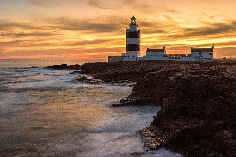 Dusk At Hook Lighthouse - Co. Wexford