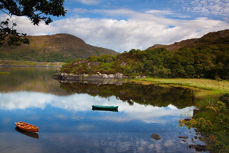 Summer on the Lakes - Landscapes of Ireland - Kerry Lakes and Mountains